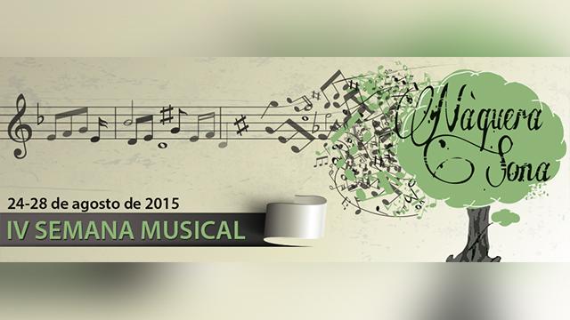 Curso, Concierto y Concurso en Náquera Sona